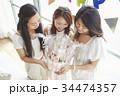 女性 ホームパーティ パーティの写真 34474357
