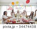 女性 ホームパーティ ベビーシャワーの写真 34474438