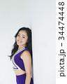 チアリーダー チアガール 女性の写真 34474448