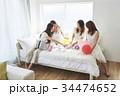 女性 寝室 パーティの写真 34474652
