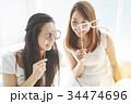 女性 パーティ 準備の写真 34474696