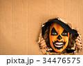 Halloween Pumpkin Autumn Holiday Concept 34476575