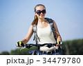 自転車 女の子 女子の写真 34479780