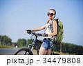 自転車 女の子 女子の写真 34479808