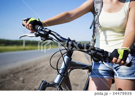 Summer bike walk 34479939