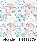 パターン 柄 模様のイラスト 34481979