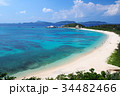 海 砂浜 風景の写真 34482466