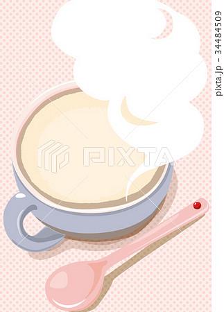 マグカップに吹き出しの湯気 34484509