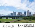新幹線 東海道新幹線 多摩川の写真 34485838
