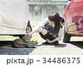女子高生 猫 登下校 34486375