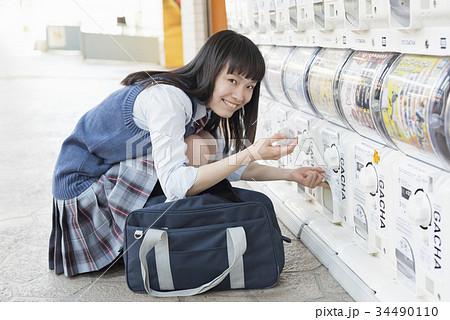 女子高生 カプセルトイ おもちゃ 34490110