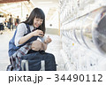 女子高生 カプセルトイ ガチャガチャの写真 34490112