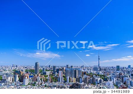 東京スカイツリー・都市風景 34491989