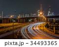 工場 夜景 プラントの写真 34493365