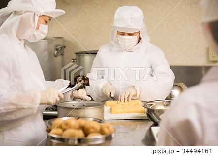 給食、弁当の製造 34494161