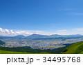 阿蘇山 大観峰からの雄大な眺め 34495768