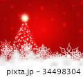 クリスマス クリスマスツリー クリスマスイブのイラスト 34498304