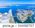 神奈川 横浜みなとみらいの風景 34498707