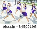 チアリーディング ダンス フォーメーション 34500196