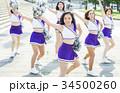 チアリーディング ダンス フォーメーション 34500260