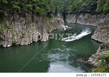瀞峡(どろきょう)瀞八丁展望所からの眺め 34509175