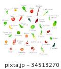 野菜と果物 34513270