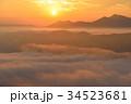 荒谷山の雲海 34523681