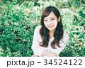 女性 ヘアスタイル 笑顔の写真 34524122