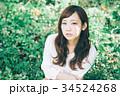女性 ヘアスタイル 20代の写真 34524268