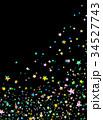 夜空 星空 カラフルのイラスト 34527743