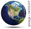 惑星 地球 世界のイラスト 34533157