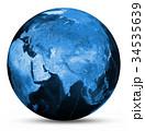 地球 マップ 地図のイラスト 34535639