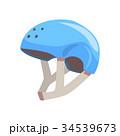ヘルメット かぶと スポーツのイラスト 34539673