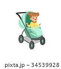 女の子 女児 女子のイラスト 34539928