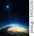 プラネット 惑星 地球のイラスト 34542230