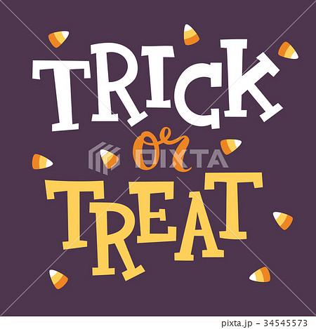 halloween party celebration invitation cardsのイラスト素材 34545573