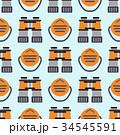 ベクトル パターン 柄のイラスト 34545591