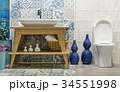 浴室 洗面台 手洗いの写真 34551998