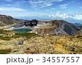 御釜 五色沼 火口湖の写真 34557557