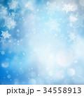 青 アブストラクト 抽象のイラスト 34558913