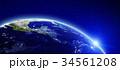 プラネット 惑星 地球のイラスト 34561208