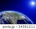 プラネット 惑星 地球のイラスト 34561211