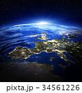 地球 スペース 空間のイラスト 34561226