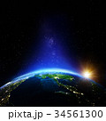 プラネット 惑星 地球のイラスト 34561300