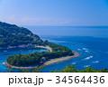 【静岡県西伊豆】戸田港から出漁する漁船 34564436