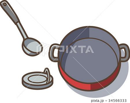 鍋とおたまと 34566333