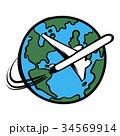 漫画 トラベル 地球のイラスト 34569914