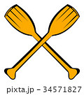 Paddle icon, icon cartoon 34571827