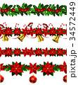 シームレス ベクトル クリスマスのイラスト 34572449