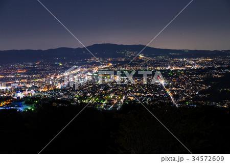 新日本三大夜景 奈良県奈良市若草山 ※2017年4月撮影 34572609